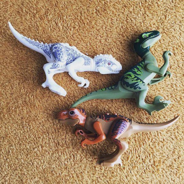 Fake Lego Dinosaurs