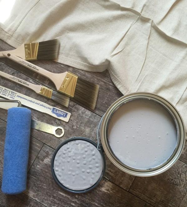 Rustic Gray Interiors DIY @sprittibee