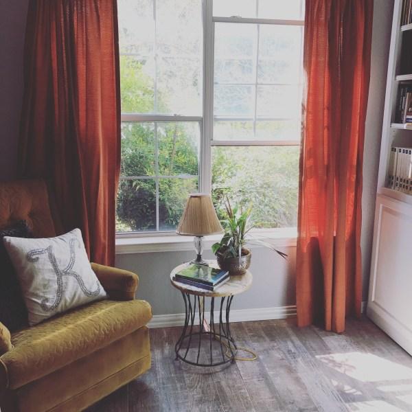 Goodbye Cozy Living Room