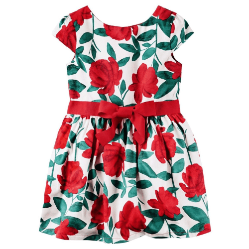 6f3bcaf2da Carter s – Sateen Floral Dress – Sprog Store