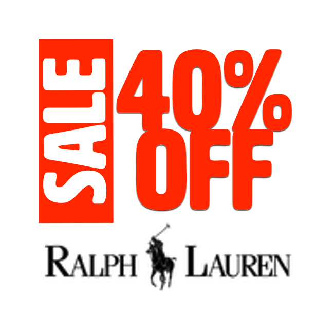 40%OFF - RL Sale