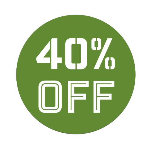 40%OFF - Green Tag
