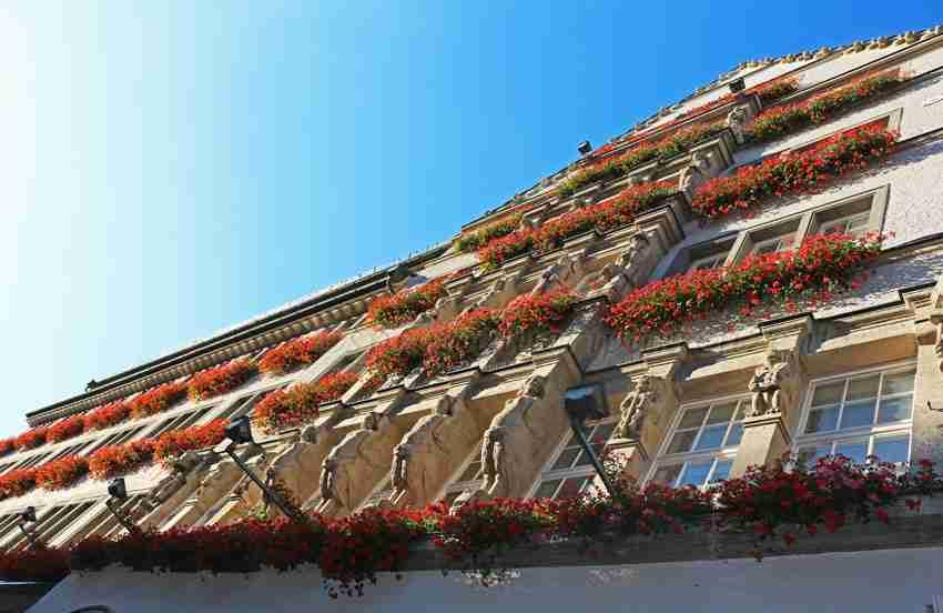 Monaco itinerario a piedi