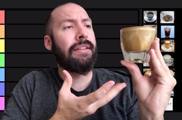 Coffee Drink Tier Rankings