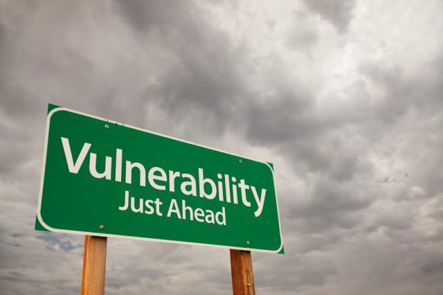 vulnerability just ahead