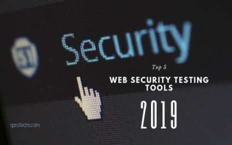 Top 5 web security testing tools