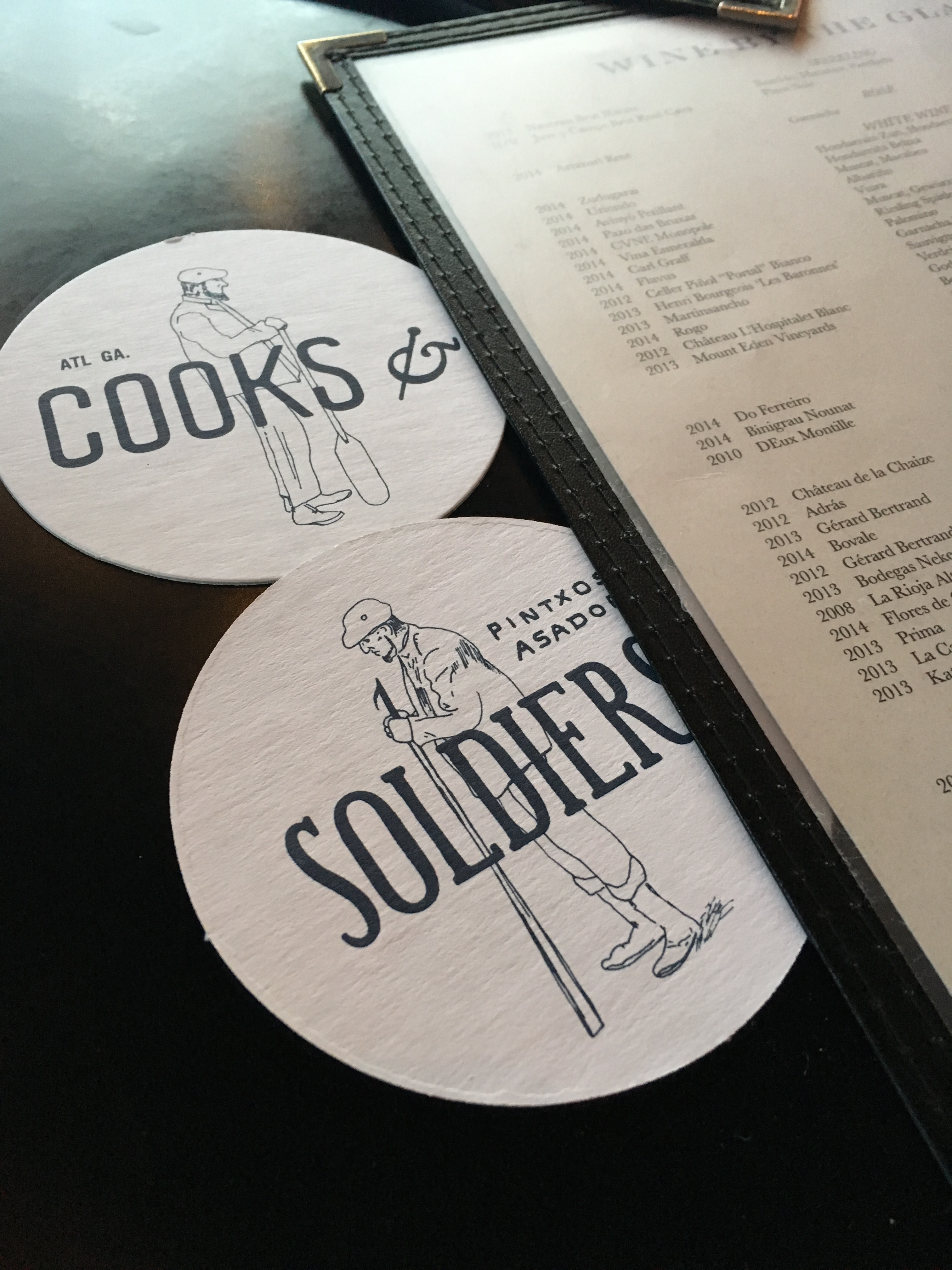 Out and About @ Cooks + Soldiers