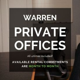 Sprout CoWorking Warren Available Private Offices