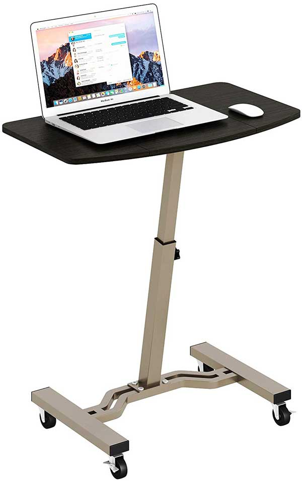 20-Types-of-desk-for-your-home-office-Rolling-Cart-Desk