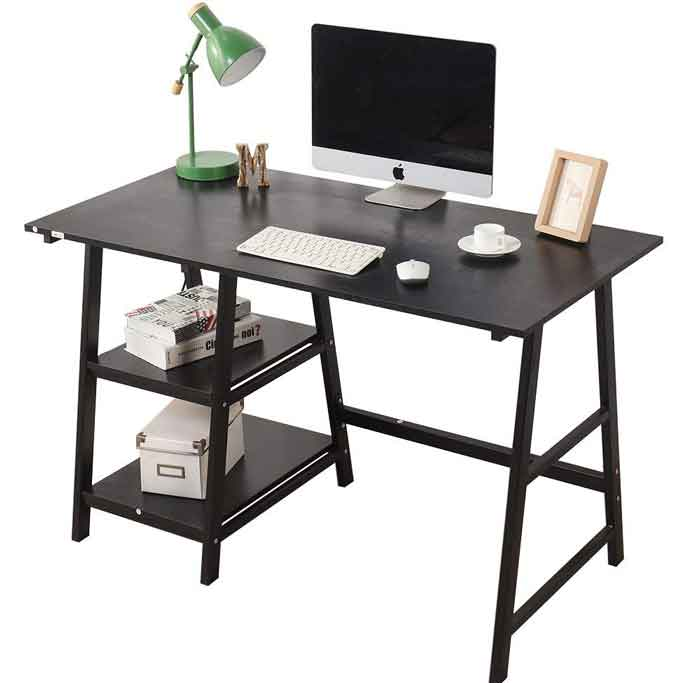 20-Types-of-desk-for-your-home-office-Trestle-Desk
