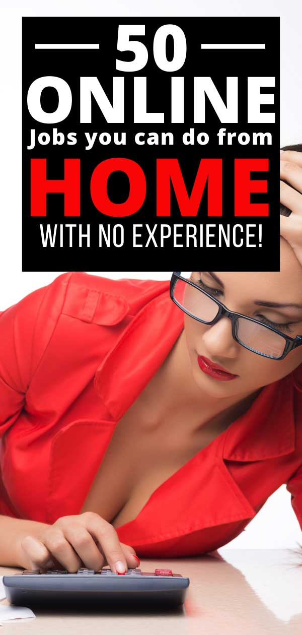 Are you looking for a work from home job for beginners? Here are 20 stay at home jobs you can do without any experience and technical skills. #stayathomejobs #stayathomejobsformoms #legitstayathomejobs #realstayathomejobs #stayathomejobsthatpaywell #workfromhome #workathome #workfromhomejobs #workathomejobs #workfromhomenoexperience #workfromhomejobsforbeginners #makemoneyfromhome #makemoneyontheside