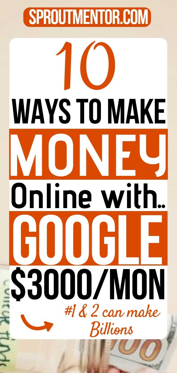 Goggle is a popular search engine we use on a daily basis. Do you want to make money online with Google? Here are 10 Google Online Jobs you should explore even if you want to work from home or make money online. #Googlejobs #Googleonlinejobs #Googlejobsfromhome #Googleonlinejobsfromhome #Googleonlinejobsforstudents #makemoneyonlinewithGoogle #Google #howtomakemoneyonline #workfromhomejobs #workathomejobs #jobsatGoogle #Googlecareers #onlinejobs