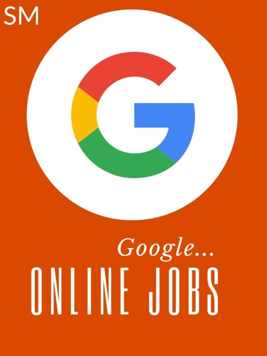 10 Google Jobs Online Without Investment