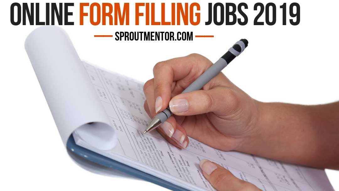 Daily Payout Form Filling Jobs Without Investment 2020