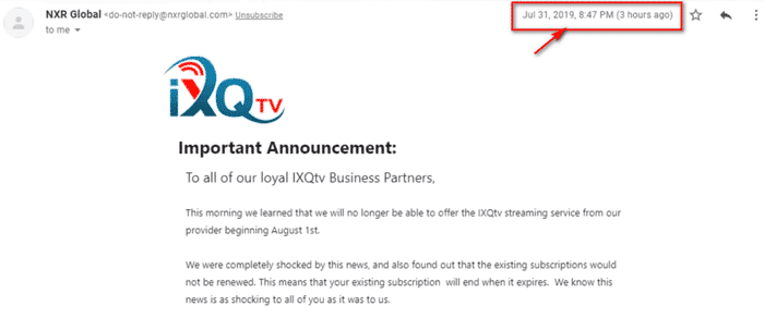 Ixqtv REVIEWS-shut-down-email-alert