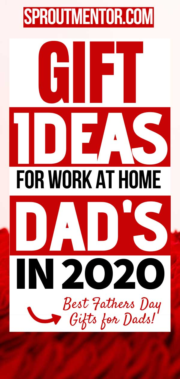Are you looking for father's day gifts you can give to work from home dads? Check out this amazing list of work from home gifts for men to choose from. #workfromhome #workfromhomejobs #workfromhometips #workfromhomewithkids #workfromhomedads #makemoneyonlinefromhome #onlinejobsfromhome #gifts #fathersday #fathersdaygifts