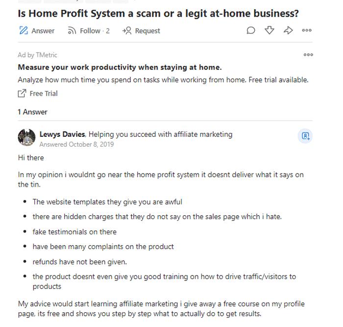 Home-profit-system-reviews-QUORA