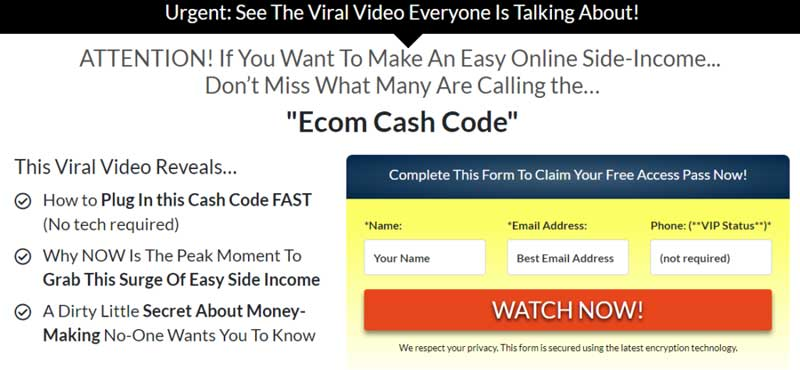 ecom-cash-code-what-it-is