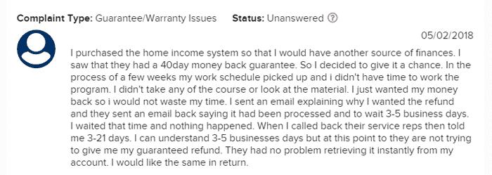 home-profit-system-complain