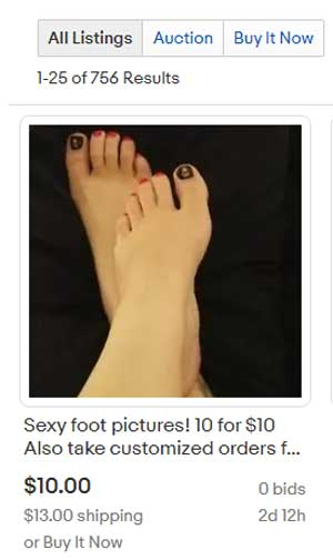 How-to-sell-feet-pics-on-ebay