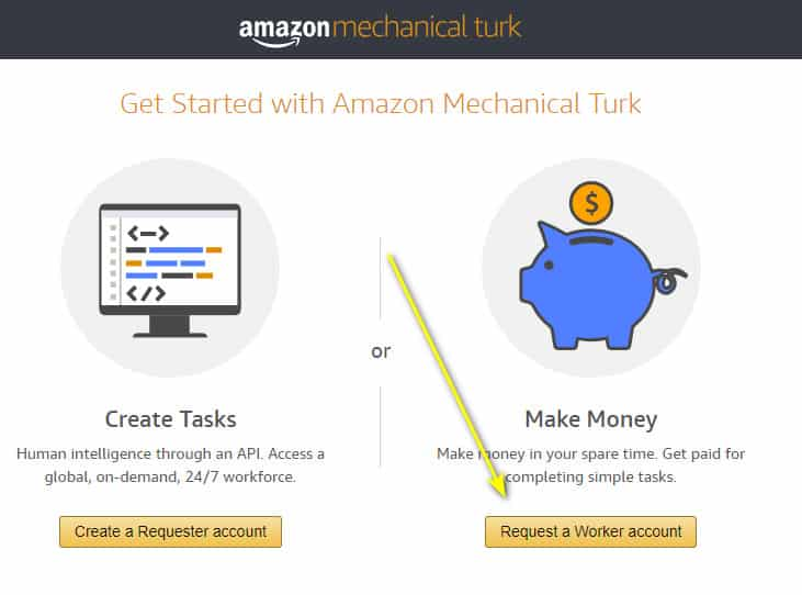how to make $50 a day on mturk- sign up step one 2