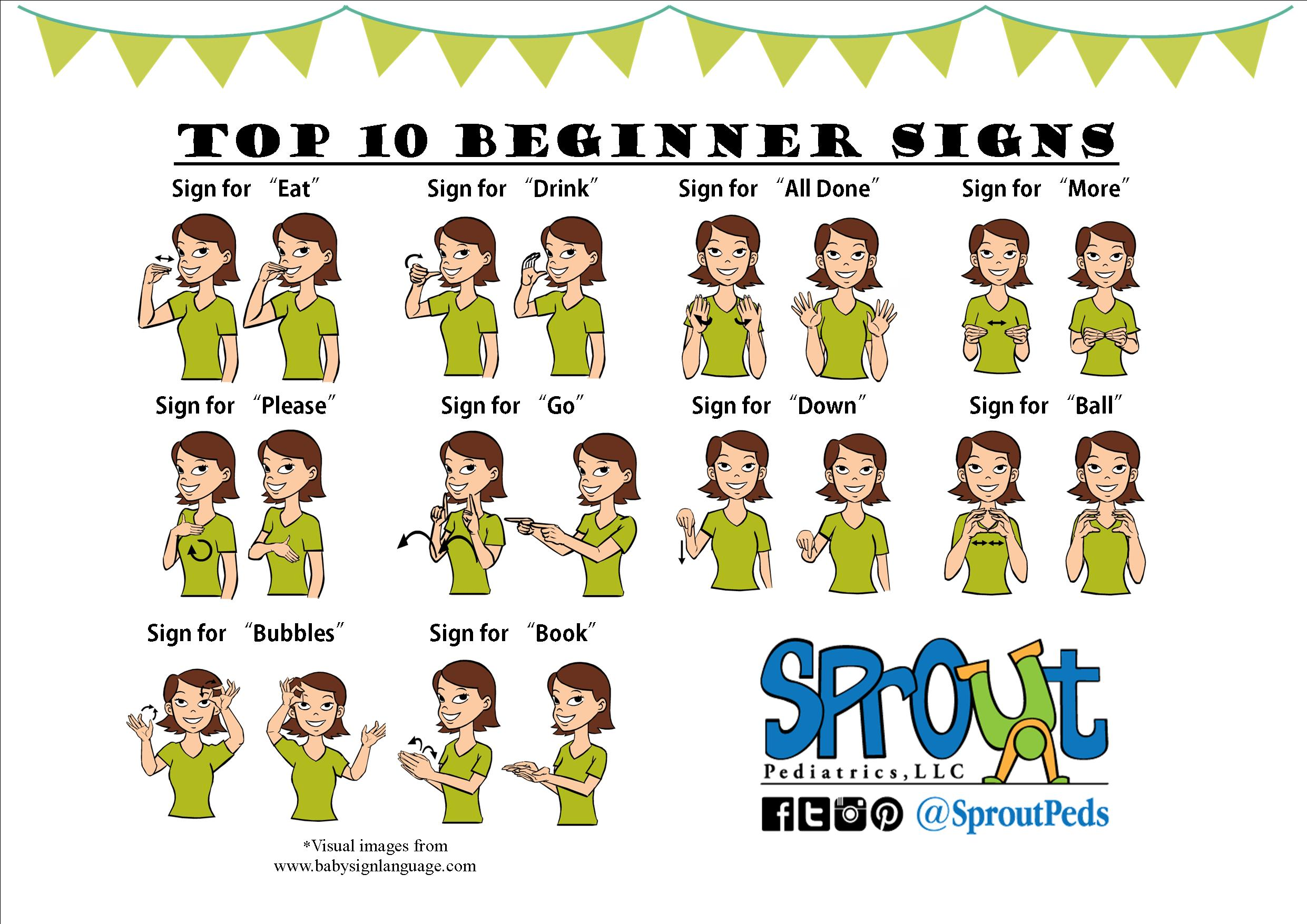 Search Results For Sign Language Printables Calendar