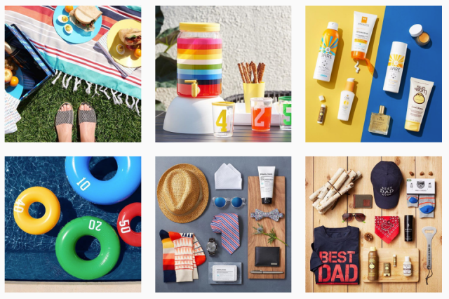 target style instagram feed exmaple