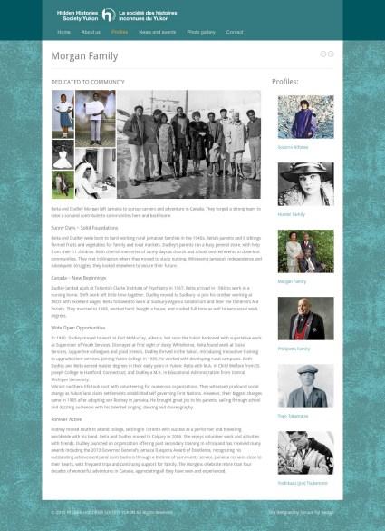 website profiles