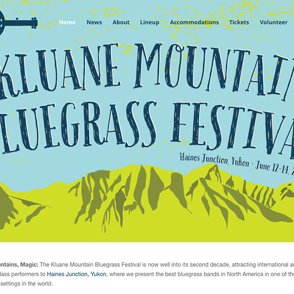 Kluane Mountain Bluegrass Festival 2015