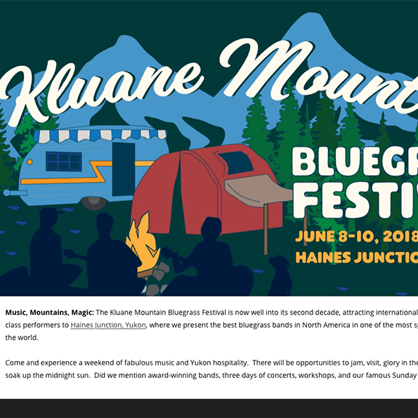 Kluane Mountain Bluegrass Festival 2018