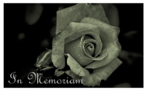 trauerspruch in Gedenken