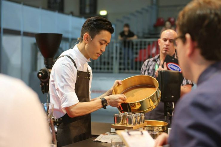 Barista Champion of Hong Kong Kapo Chiu