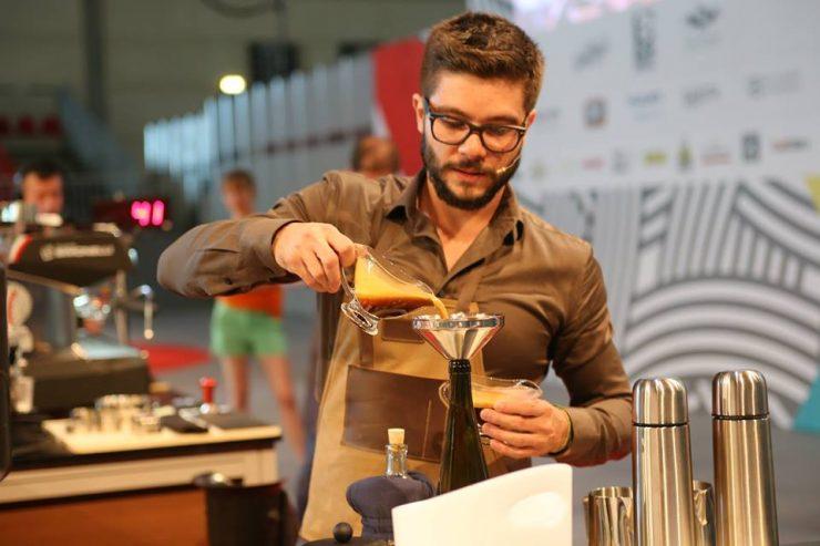 Brazilian Barista Champion Leo Moco