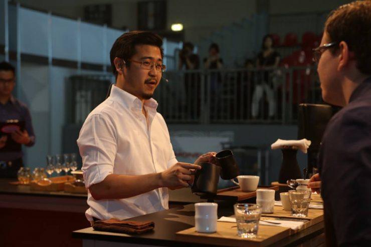 Indonesia Barista Champion Yoshua Tanu