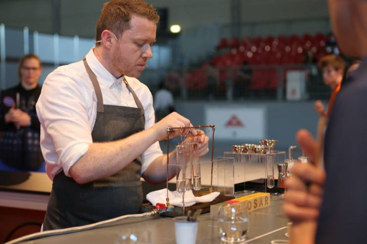Irish Barista Champion Pete Williams