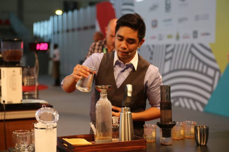 Kevin Israel Fortu, Barista Champion of The Philippines