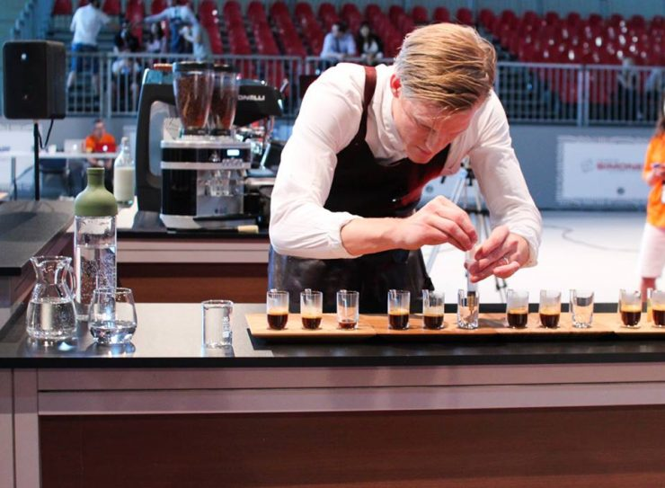 Swedish Barista Champion Tobias Palm