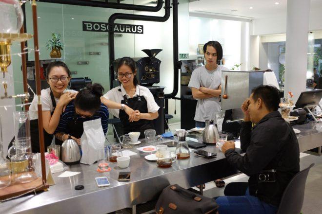 bogaurus coffee ho chi minh city vietnam
