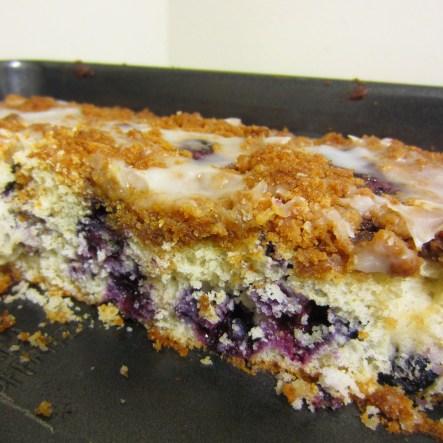 Blueberry Buckle Coffee Cake