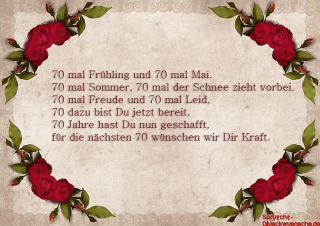 Gluckwunsche Zum 70 Geburtstag Mann L 70 Geburtstag Spruche