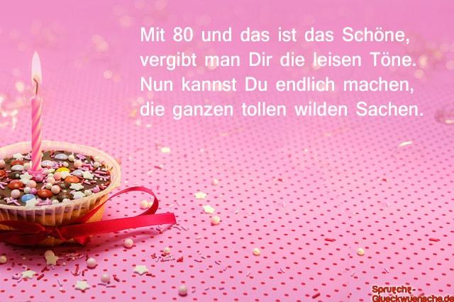 Gluckwunsche Zum 80 Geburtstag Geburtstagswunsche Zum 80