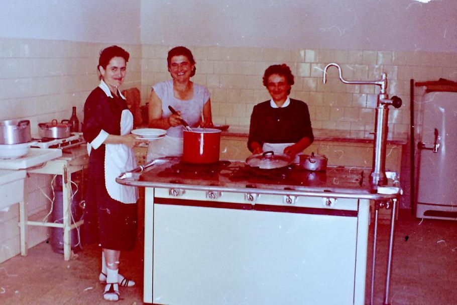 Küchenpersonal 50er Jahre