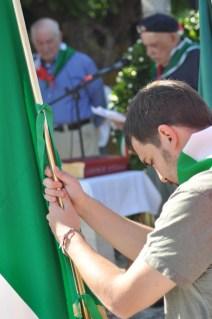 Bandiera dell'ANPI San Severino Marche