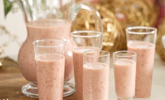 plum smoothies