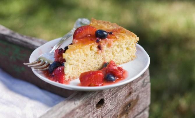 cornmeal cake