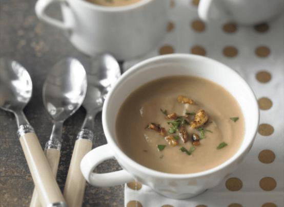 parsnip soup crop