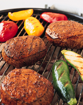 grilled-beef-steaks-ancho-chili-rub-relish-recipe