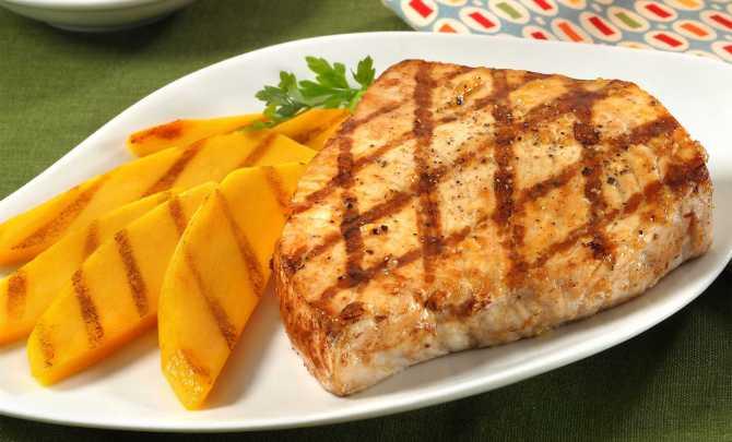 mango-lime swordfish