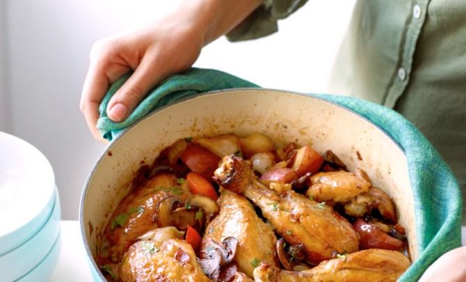 Chicken in white wine recipe spry living chicken white wine sauce weight watcher recipe health forumfinder Image collections