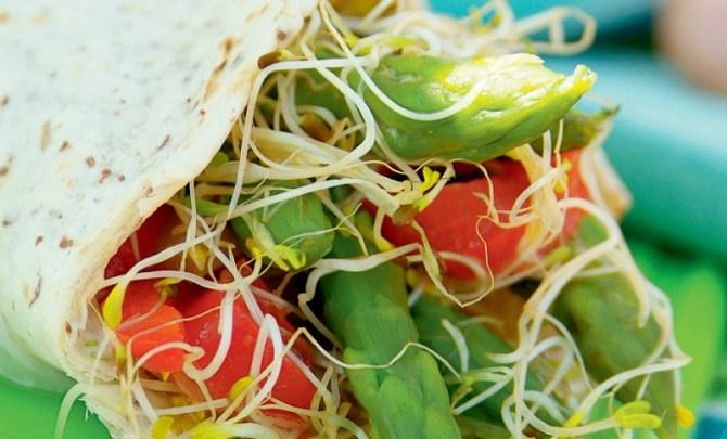 the-vegetarian-kitchen-table-cookbook-crunchy-vegetable-alfalfa-wraps-recipe-eat-health-diet-nutrition-spry